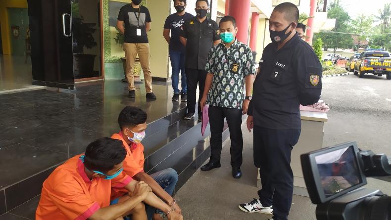 Belajar Buat Kunci T dari Internet, 2 Pemuda di Palembang Gondol 6 Motor