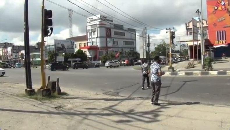 Pascakerusuhan di Kendari, Polisi Cek Fasilitas Umum yang Dirusak Massa Pendemo