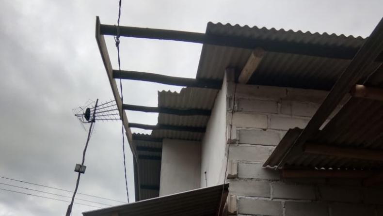 Angin Puting Beliung Terjang Bangka Belitung