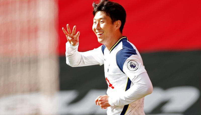 Quattrick Son Heung-min Warnai Kemenangan Besar Tottenham Hotspur
