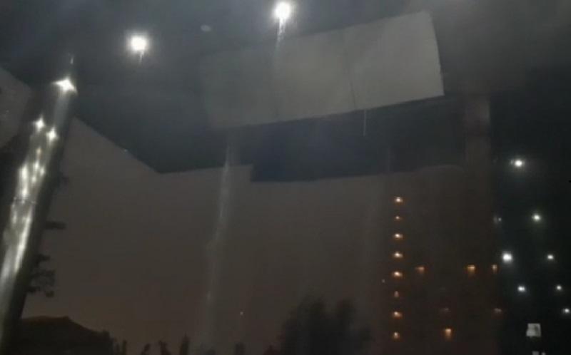 Hujan Disertai Angin, Plafon Gedung KPK Jebol