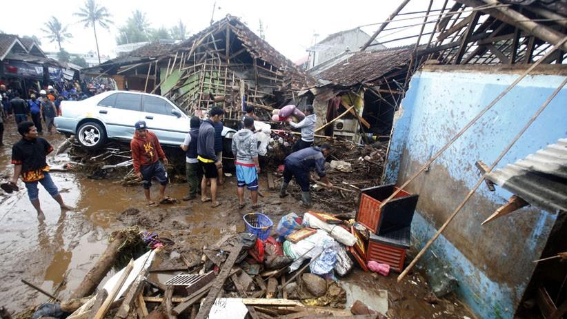 Korban Banjir Bandang di Cicurug Sukabumi Ditemukan Tersangkut di Pohon
