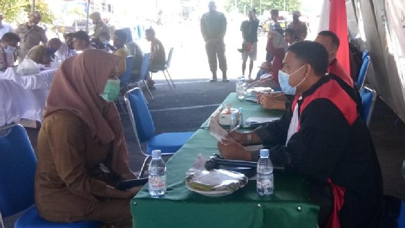 PNS Terjaring Razia Masker di Ternate, Petugas Surati Kepala Dinas Terkait