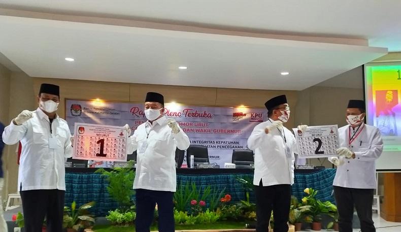 Pilgub Kalsel, Calon Petahana Nomor 1 dan Penantang Denny Indrayana No 2