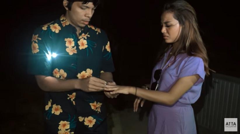 Liburan Romantis Di Bali Aurel Hermansyah Dan Atta Halilintar Bertengkar Karena Kehilangan Cincin