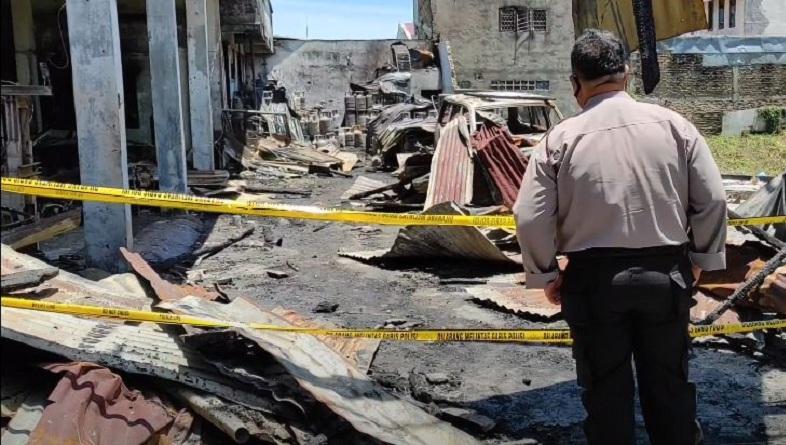 Keterangan Saksi saat Kebakaran yang Tewaskan 5 Orang Sekeluarga di Pematangsiantar