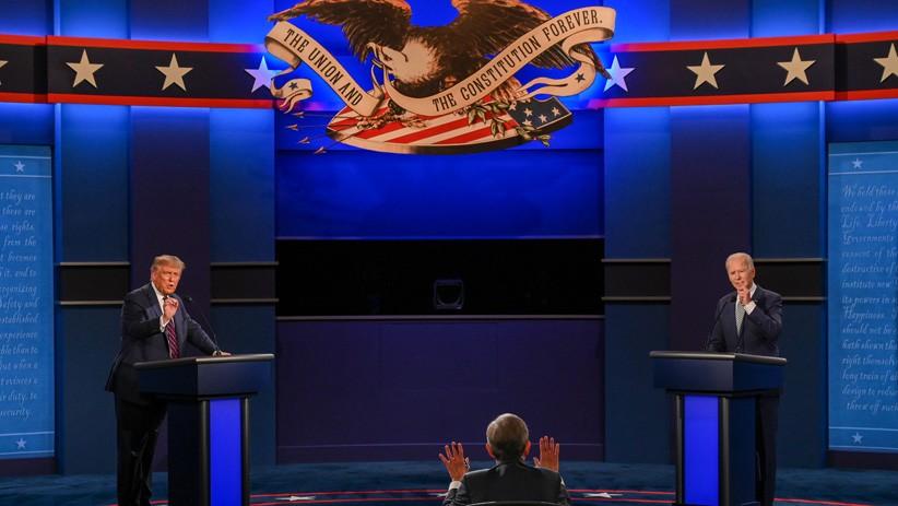 Momen Donald Trump dan Joe Biden Adu Gagasan saat Debat Calon Presiden AS
