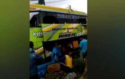 Ini Identitas 4 Korban Tewas Kecelakaan Maut Bus Pariwisata di Dieng Wonosobo
