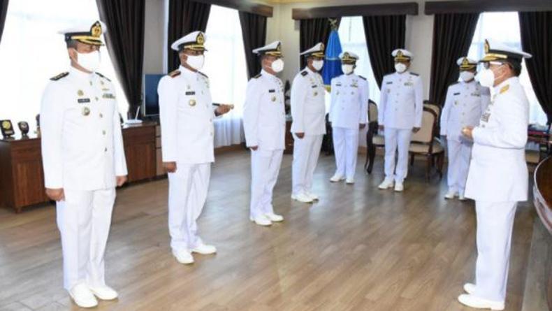 4 Perwira Lantamal VIII Manado Naik Pangkat Jadi Kolonel, Ini Daftarnya
