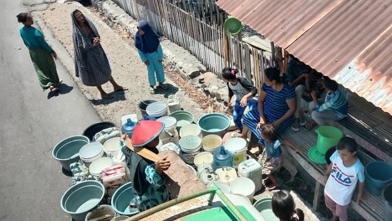 Dampak Kemarau, Warga di 2 Desa Jeneponto Kekeringan dan Krisis Air Bersih