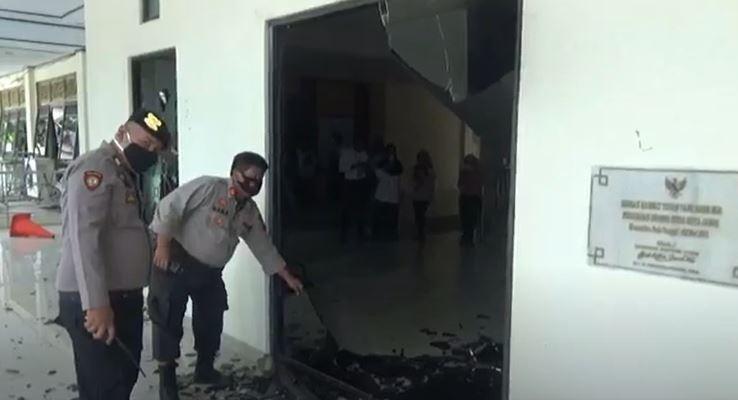 Polisi Selidiki Motif Pelajar STM Serang dan Rusak Gedung DPRD Jambi