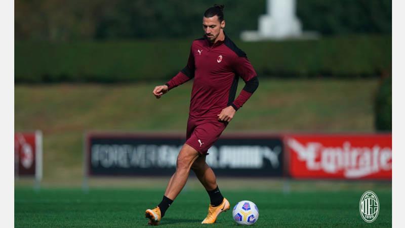 Kembali Latihan usai Covid-19, Zlatan Ibrahimovic Siap Lakoni Derbi Milan