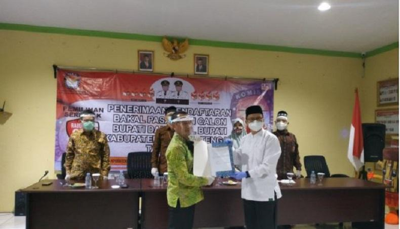 Algafry Rahman Resmi Gantikan Ibnu Saleh sebagai Calon Bupati Bangka Tengah