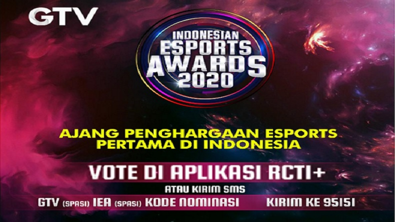 Lewat Indonesian Esports Awards, GTV Gelar Ajang Penghargaan Esports Pertama di Indonesia