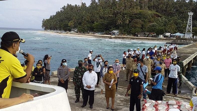 Wilayah Kepulauan di Sangihe Zero Covid-19, Bupati: Puji Tuhan Semua Warga Sehat