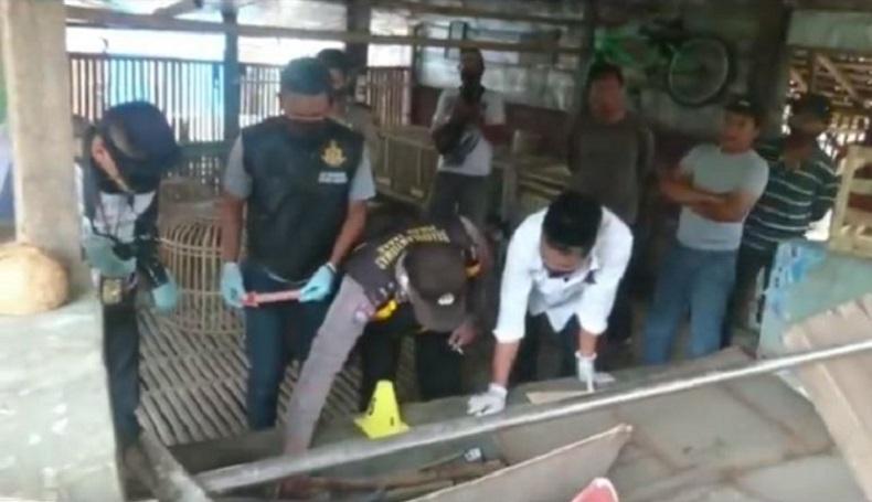 Warga Garut Dihebohkan Penemuan Mayat di Kandang Ayam, Diduga Dibunuh