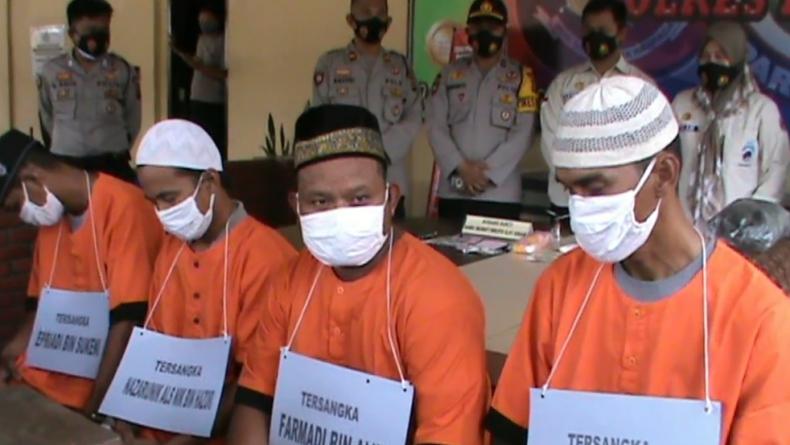 Asyik Pesta Sabu dengan Adik Ipar, Bandar di Prabumulih Kaget Digerebek Polisi