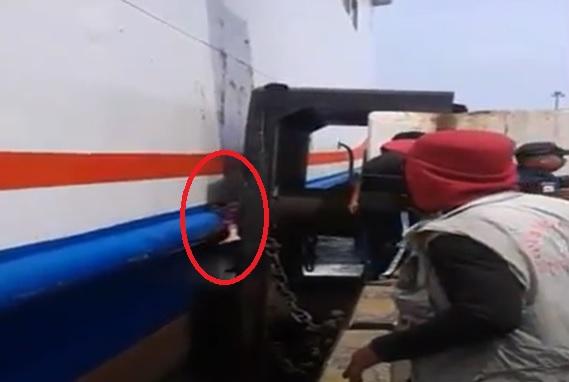 Tragis, Nenek di Cilegon Tewas Tergencet Kapal Ferry lalu Jatuh ke Laut