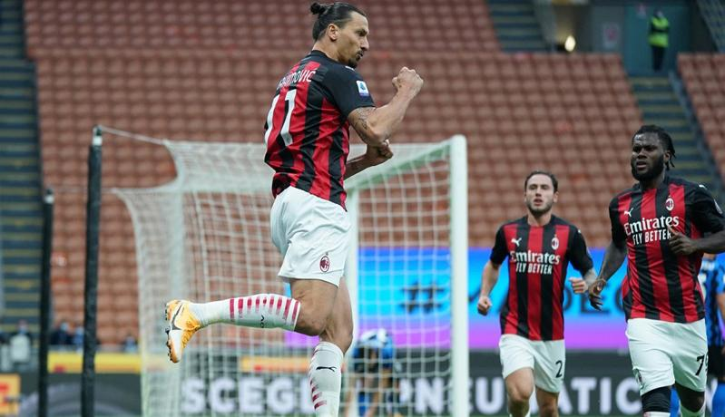 Inter Vs AC Milan: Sepasang Gol Ibrahimovic Antar Rossoneri Menang Derbi Della Madonnina