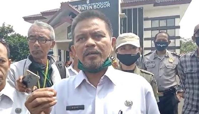 Lecehkan Wartawan Bogor, Camat Cibungbulang Minta Maaf