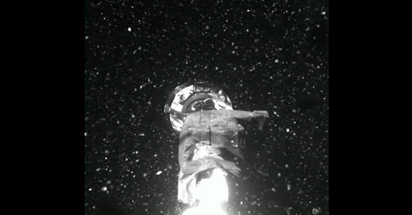 NASA Bagikan Gambar Pendaratan OSIRIS-REx di Asteroid Bennu