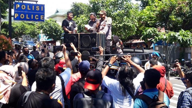 Forum Pemred Malut Desak Kapolda Tindak Oknum Polisi yang Intimidasi Wartawan