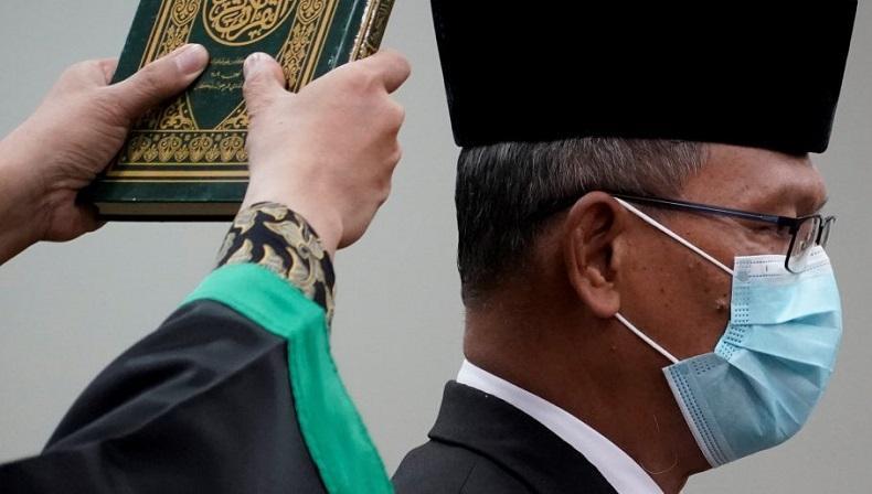 Menkes Terawan Resmi Lantik Achmad Yurianto Jadi Staf Ahli Menteri
