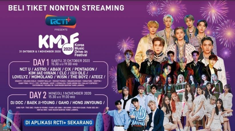 Korean Music Drive-In Festival 2020 Hadir di RCTI+