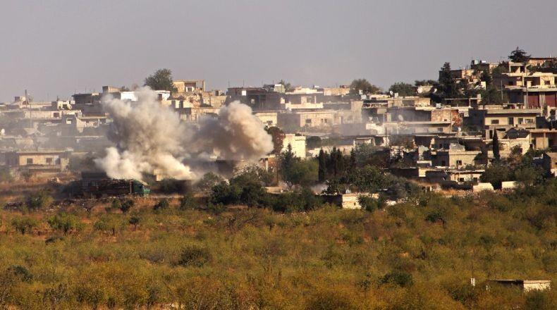 Serangan Jet Tempur Rusia di Suriah Tewaskan 56 Pejuang yang Didukung Turki