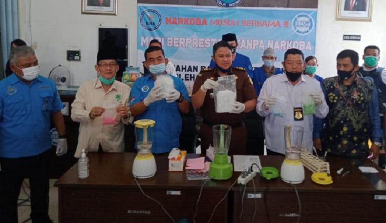 BNNP Sumsel Musnahkan Sabu dan Ekstasi Demi Cegah Penyalahgunaan Barang Bukti