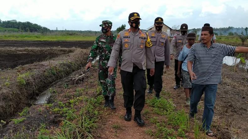8 Tahun Telantar, Sawah di Bangka Selatan Kembali Digarap Petani