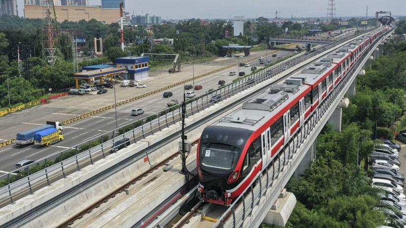 LRT Jabodebek Target Uji Coba April 2022, Diresmikan Juni Tahun Depan