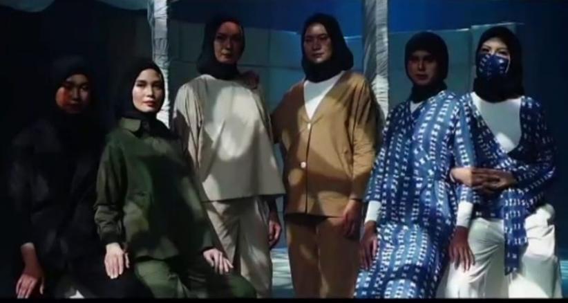 Modest Fashion ISEF 2020 Usung Busana Berkelanjutan, Sandiaga Uno: Beri Ruang untuk Produk Lokal