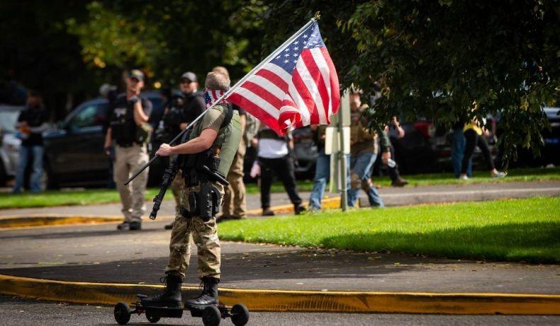 Pemilu Amerika, FBI Peringatkan Potensi Bentrokan Bersenjata di Portland