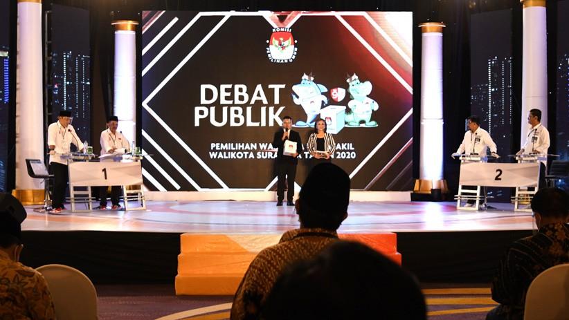 Debat Pamungkas Pilwali Surabaya, Peluang 2 Paslon Rebut Swing Voters