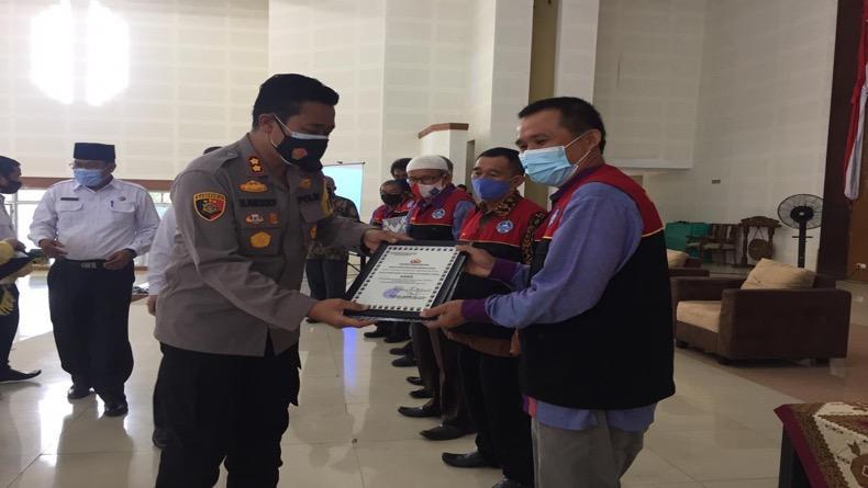 Ciptakan Pilkada Damai di Tengah Pandemi, Polres Bangka Tengah Gandeng FKUB