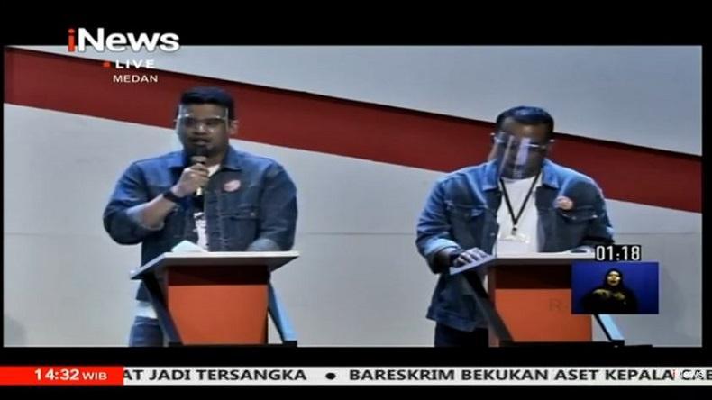 Jelang Debat Kedua Pilkada Medan, Bobby-Aulia Siapkan Kondisi Badan agar Fit