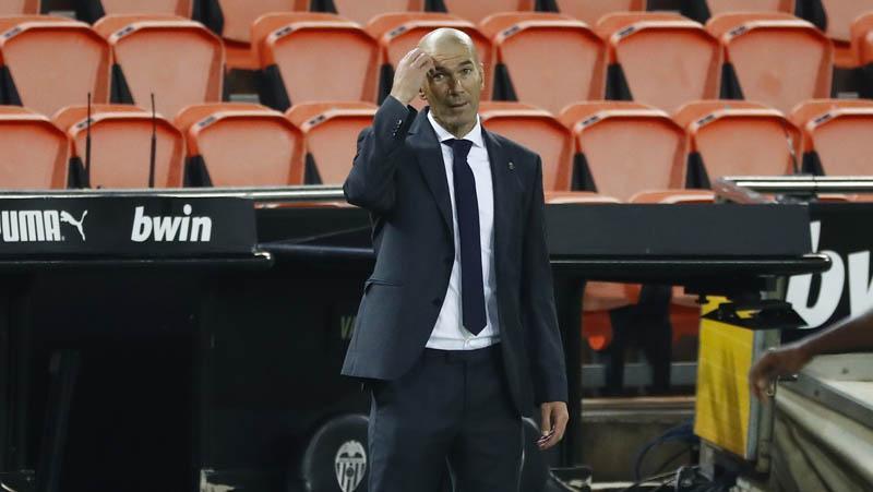 Zidane Terancam Tak Bisa Dampingi Real Madrid di 2 Pertandingan, Kenapa?