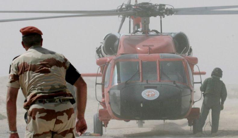 Helikopter Jatuh di Gurun Sinai Mesir Tewaskan 7 Pasukan Penjaga Perdamaian