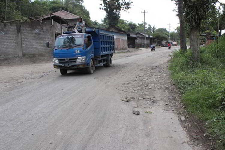 Jalur Evakuasi Pengungsi Merapi di Klaten Harus Bebas Hambatan