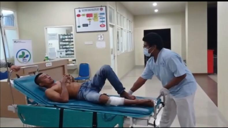 Melawan Polisi, Pelaku Curanmor di Pangkalpinang Ambruk Ditembak Polisi