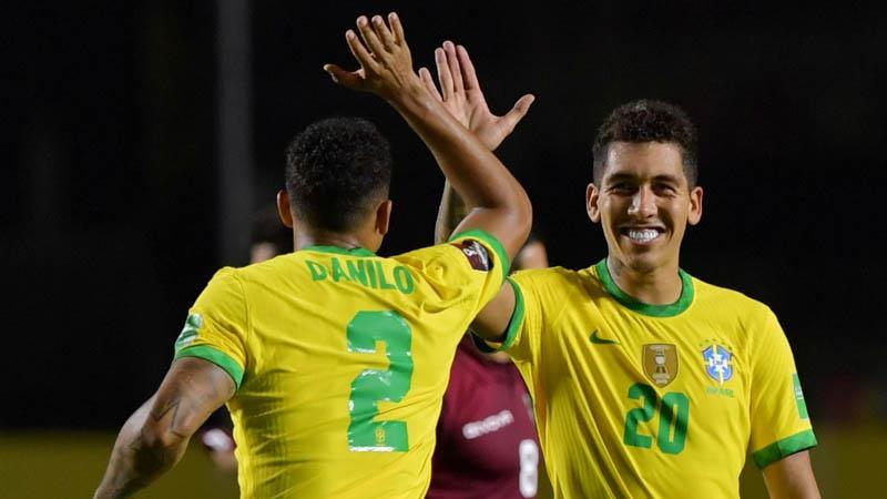 Tanpa Neymar, Firmino Jadi Penentu Kemenangan Brasil atas Venezuela