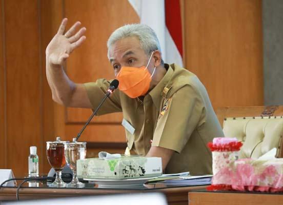 Muncul Klaster Hajatan di Sragen, Ganjar Imbau Warga Tak Abai Disiplin Protokol Kesehatan