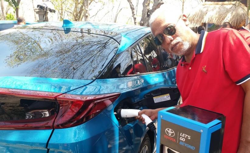 Tak Mau Ketinggalan, Toyota Siap Luncurkan Mobil Listrik Murni di Indonesia
