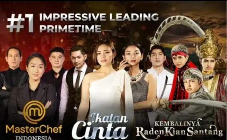 Rekor Baru! Rating Ikatan Cinta 9,4, Pemirsa Prime Time RCTI Nyaris 2x Lipat Libas SCTV