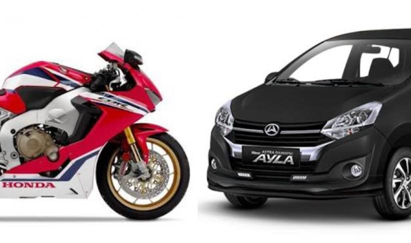 4 Fakta Menarik Motor Honda CBR1000RR Diseruduk Daihatsu Ayla