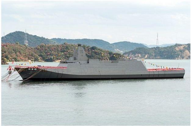 Ini Penampakan Kapal Fregat Siluman Terbaru Milik Jepang