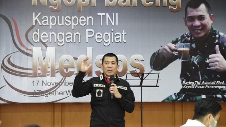 Kapuspen: Mabes TNI Tak Pernah Perintahkan Copot Baliho Habib Rizieq