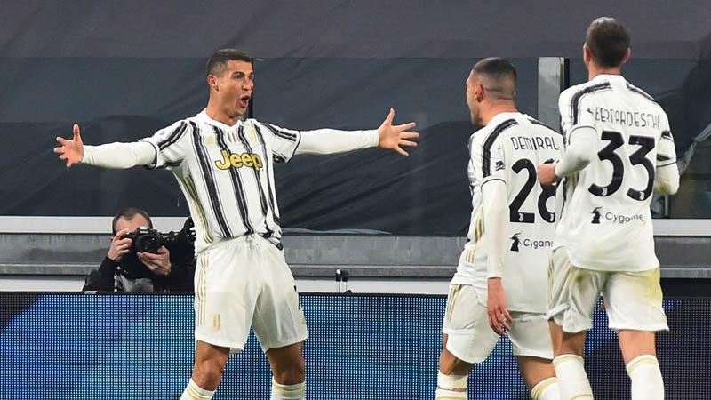 Sepasang Gol Cristiano Ronaldo Antar Juventus Taklukkan Cagliari