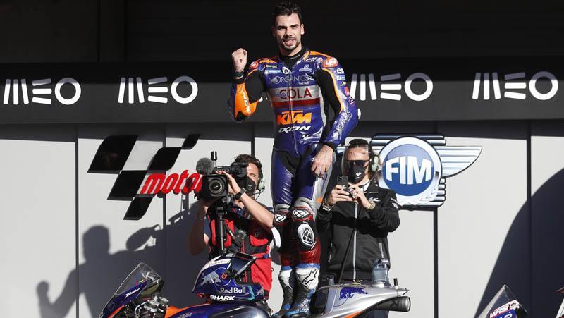 MotoGP Portugal 2020: Miguel Oliviera Tercepat, Joan Mir Gagal Finis